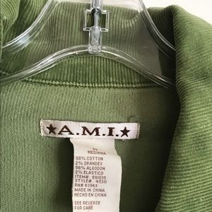 A.M.I. : LODEN GREEN CORDUROY